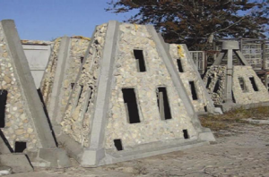 Figure 1. Pyramid construction of the artificial reefs.