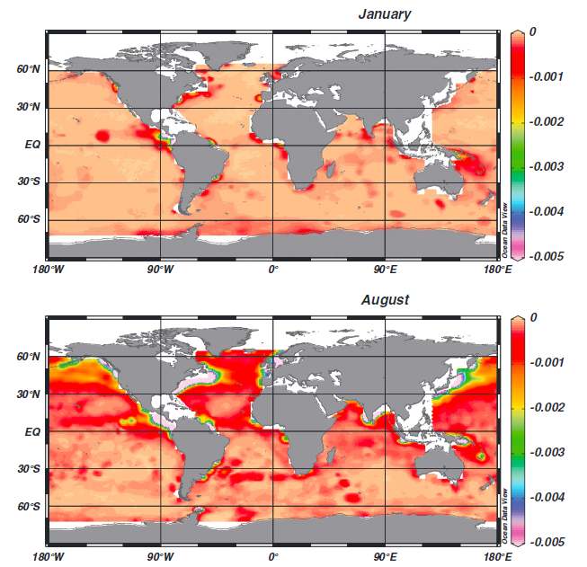 Emissions from International Shipping Vessels Contribute to Ocean Acidification