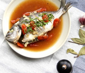 Fig 3: The sea bream ready for consumption.