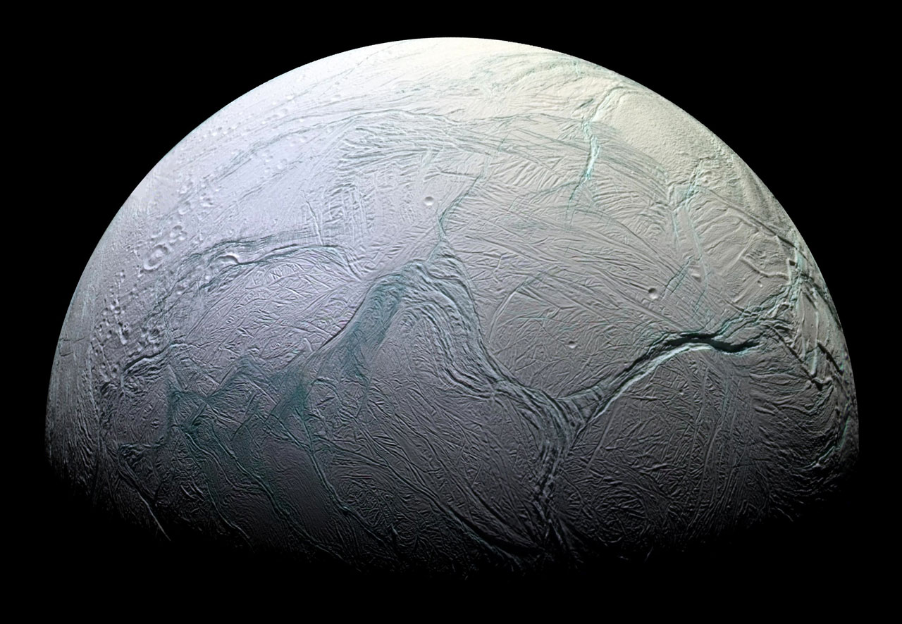 Oceanography in space! Using a satellite to profile an extraterrestrial lake