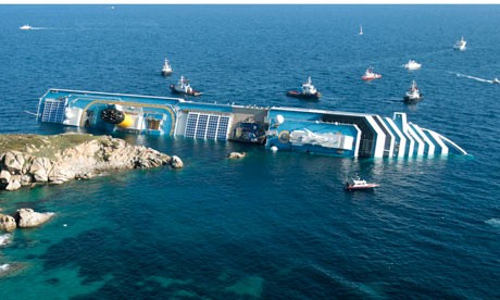MAYDAY! MAYDAY! We've Run Aground!!…Assessing the early impacts of the Costa Concordia wreck