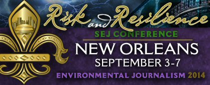 Live from New Orleans, graduate students' forays into environmental journalism!