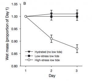 Fig 7: This figure shows the change in biomass of S. sessilis over several days exposure to three treatments.
