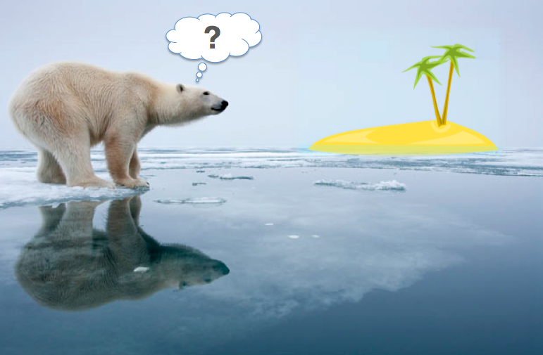 How is the tropical Pacific causing the Arctic to warm?