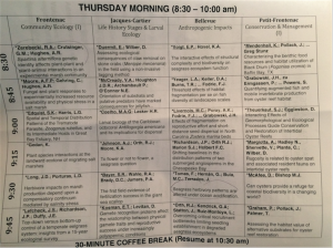 Tough to make decisions about which talks to attend!