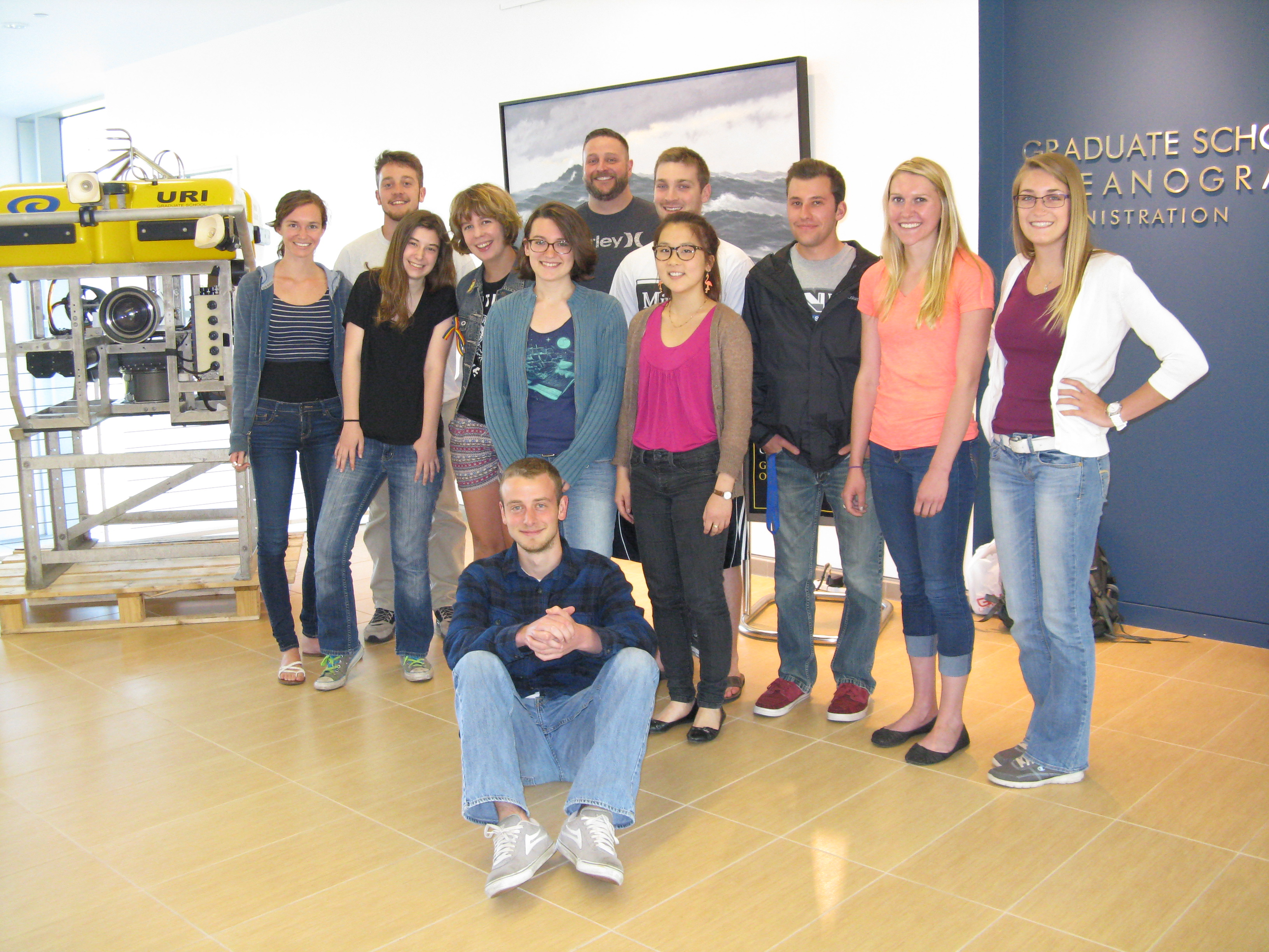 Notes from the Undergrads: Summer Research Projects in Oceanography (Part II)