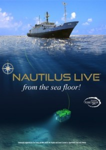 Figure 4: You can watch live streaming of deep-sea explorations at nautiluslive.org