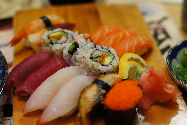 Figure 1: Sushi (Credit: Alexandra Guerson) https://www.flickr.com/photos/guerson/5642004840/