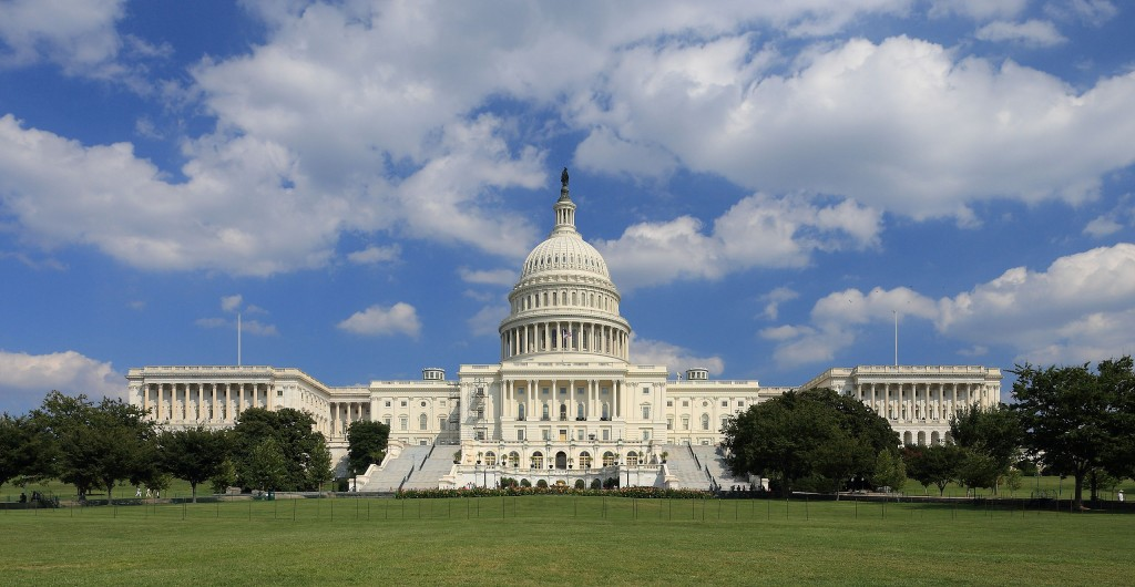 The US Capitol. Congressional Visits Day incorporated visits with offices in both the House Representative side and the Senate side.