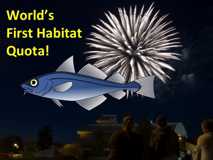 How to Stop Dragging Our Assets:  The World's First Fishery Habitat Quota