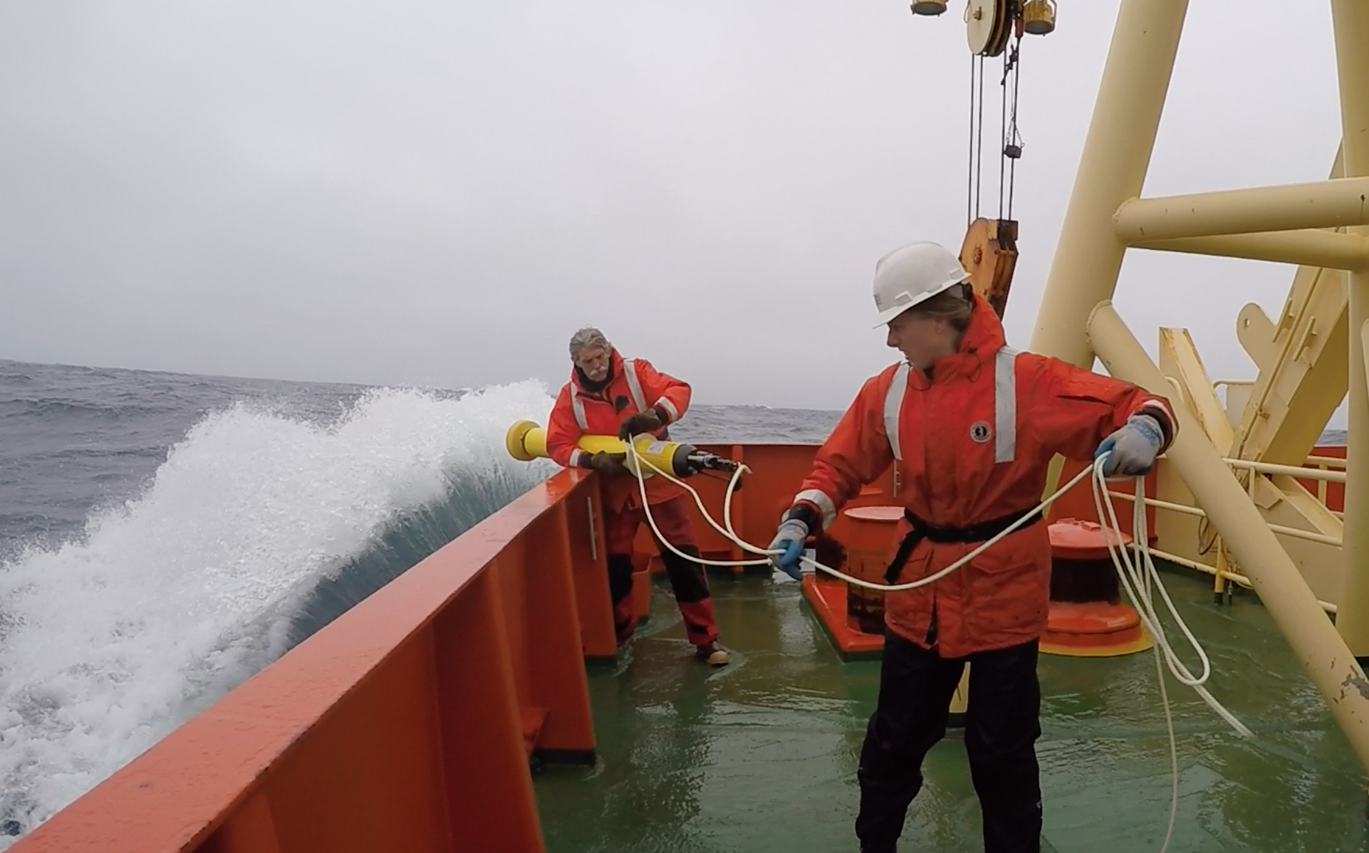 Sailing the Southern Ocean for science