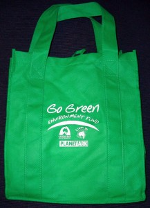 This Earth Day, try bring your own bags to the grocery store!