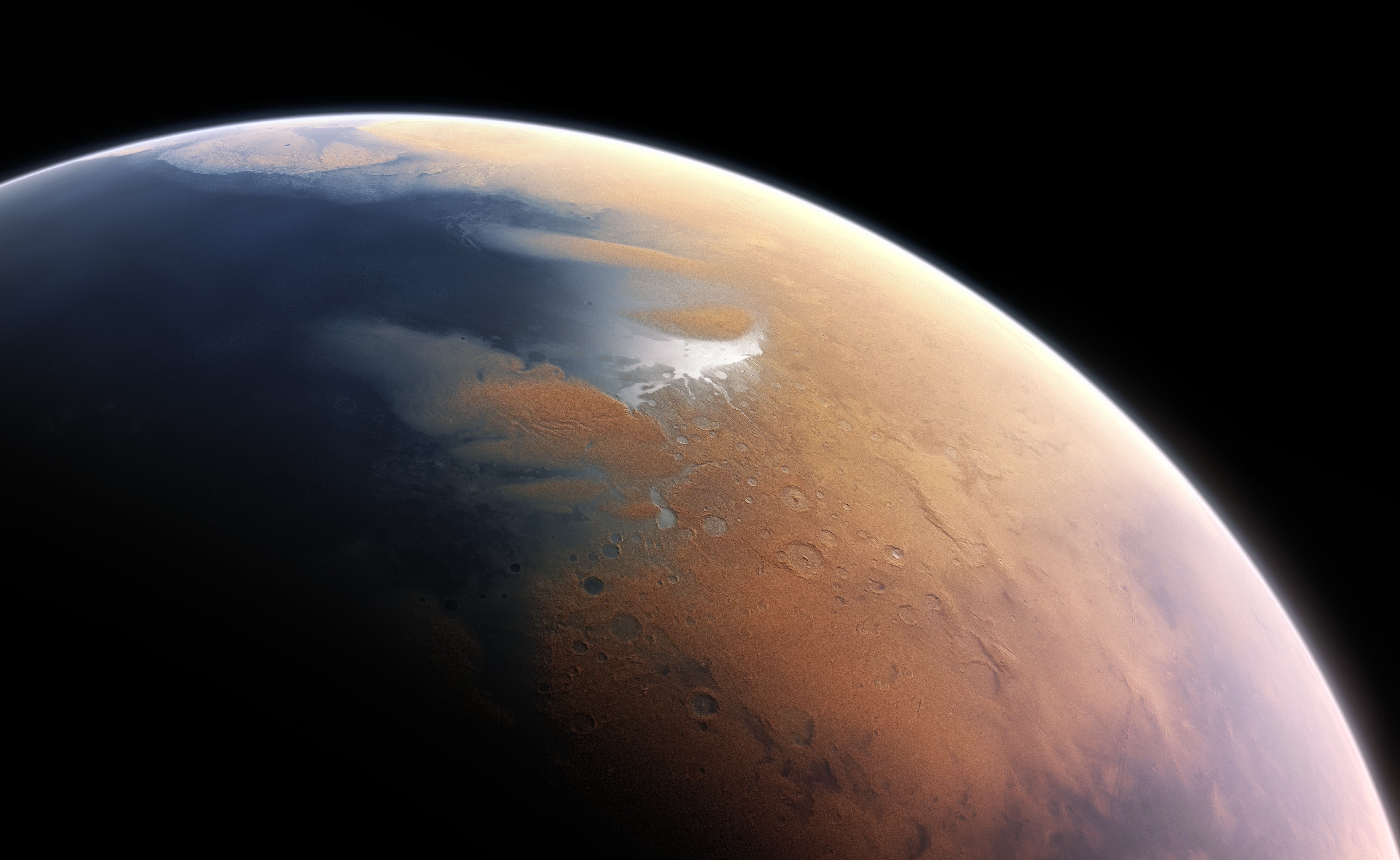 Paleo-oceanography from satellite data reveal ancient tsunamis…on Mars?!