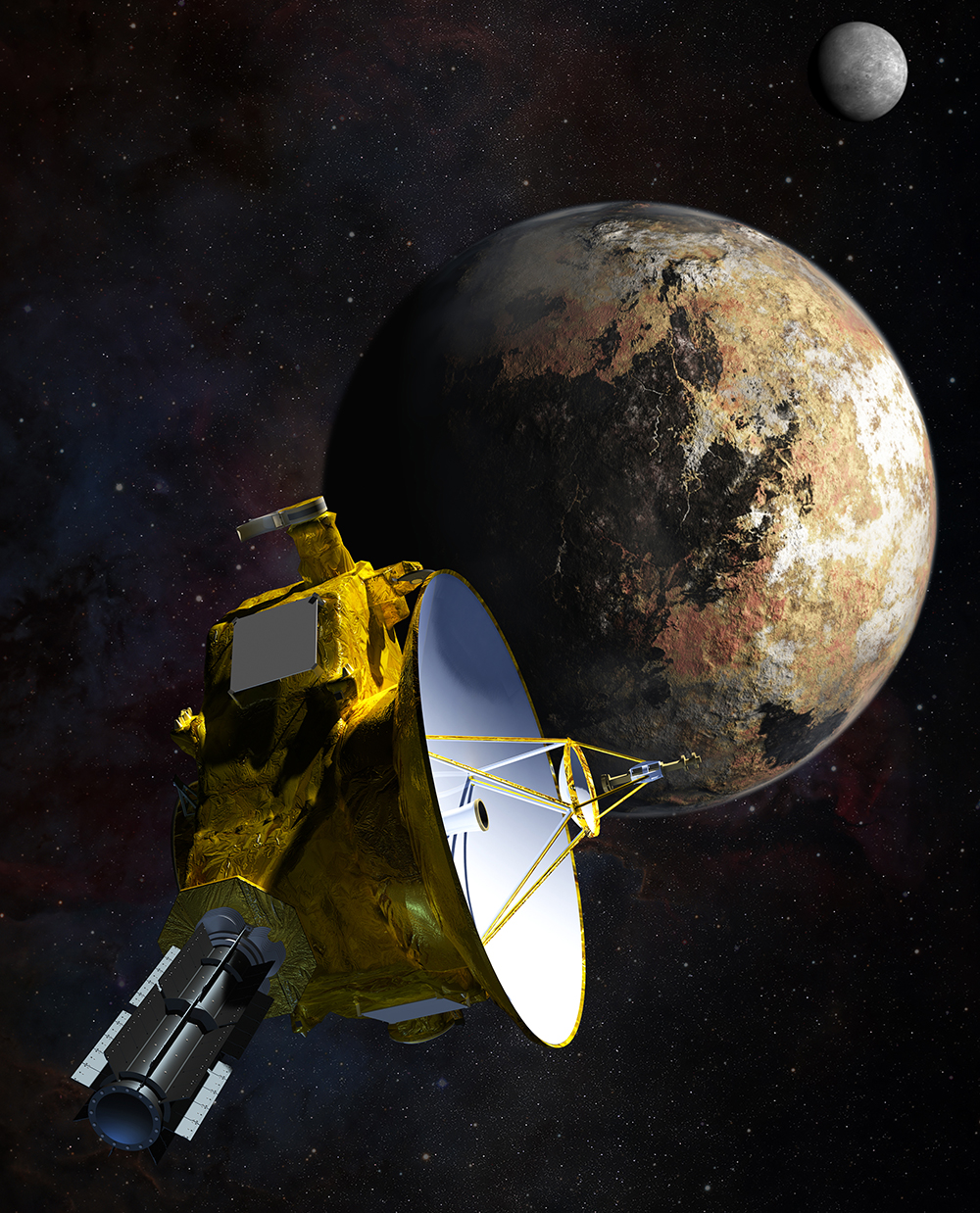 Pluto perhaps not so icy after all
