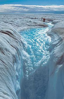 Greenland ice melt may impact Atlantic Ocean temperature and climate