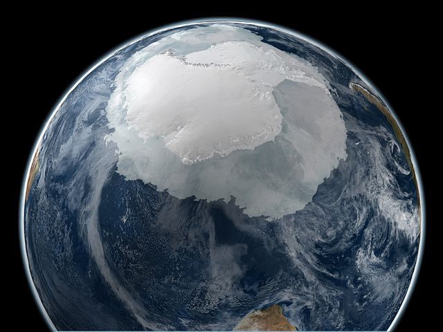 Why the Southern Ocean is getting less salty