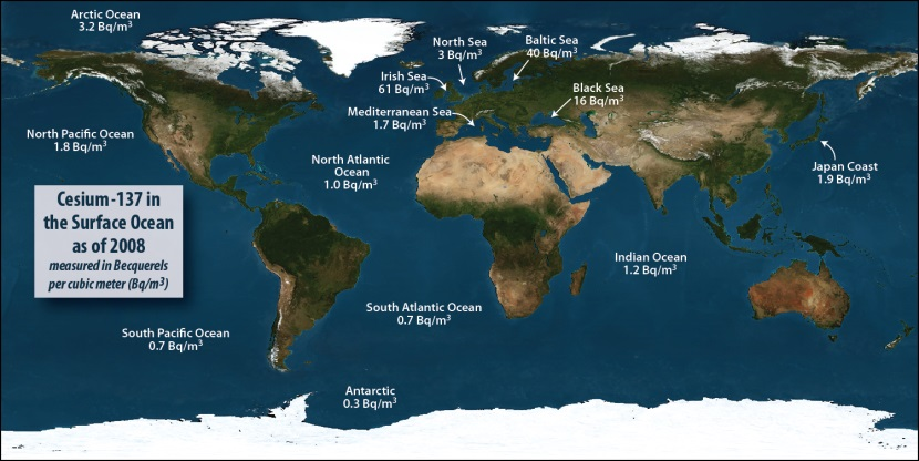 Time to update the history books: the future of radionuclides in the ocean