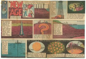 A comic from 1959 depicting early coverage of Project Mohole and its aims. Retrieved from http://nationalacademies.org/includes/newage_comic.jpg?_ga=2.7896507.805857054.1494446110-1908183194.1494446110