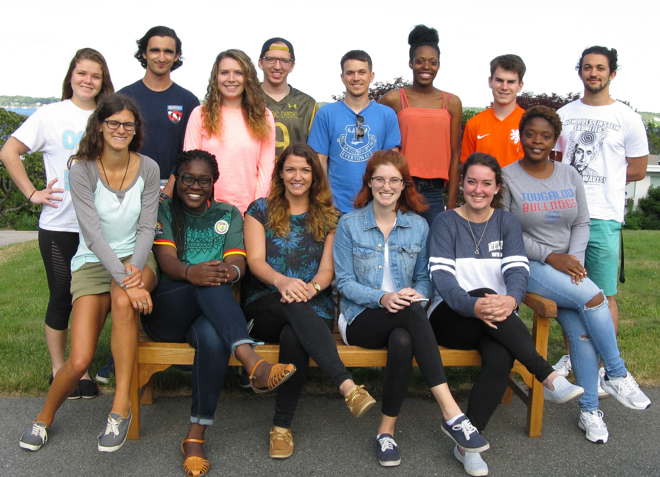 Growing a Scientist: Undergraduate Research 2017