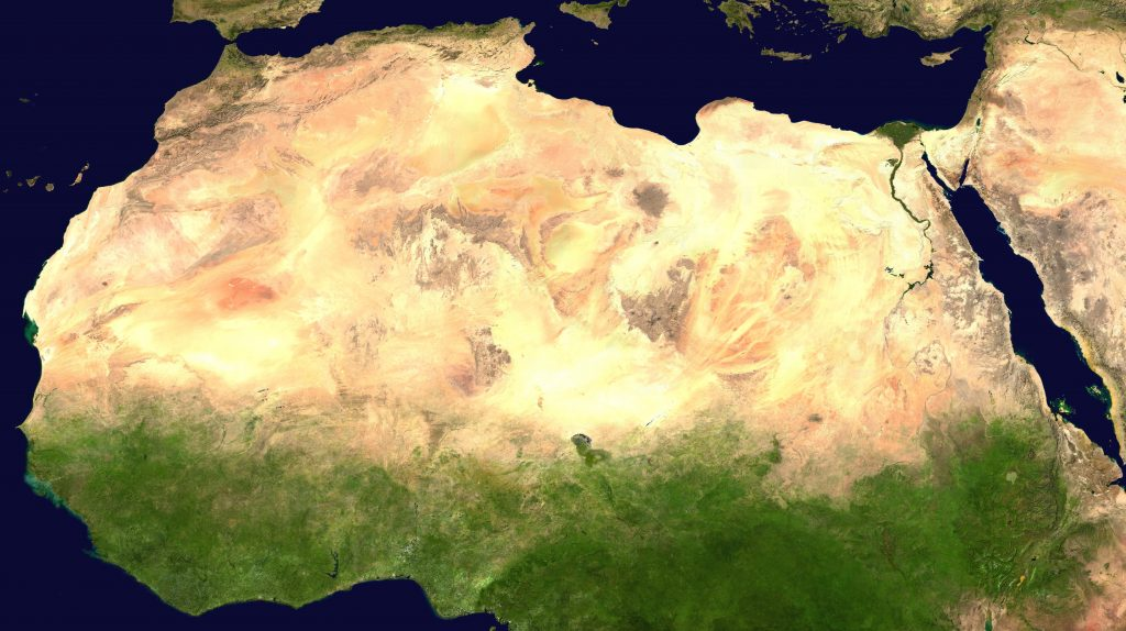 By NASA - Cropped from Image:Africa satellite plane.jpg., Public Domain, https://commons.wikimedia.org/w/index.php?curid=1654153