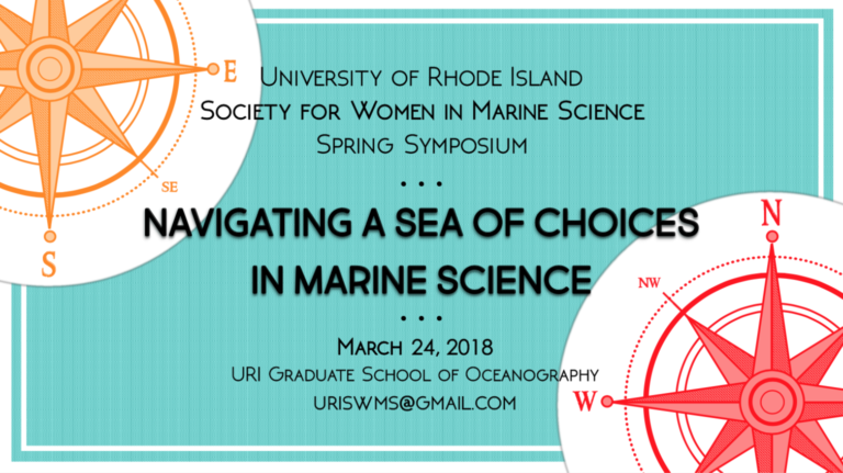 2018 Society for Women In Marine Science Spring Symposium