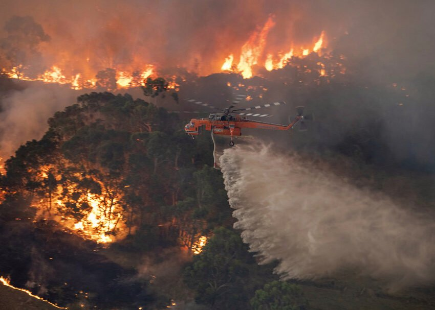Of Wildfires and Oceans