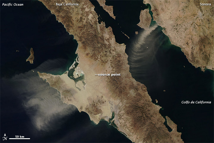 Dust may feed more life in a warmer ocean