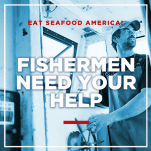 promotional image from Eat Seafood America campaign