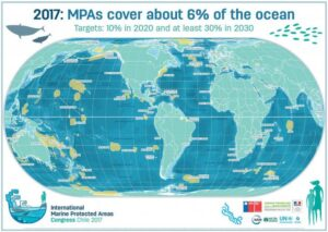 Global map of MPAs