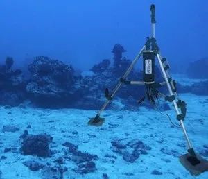 That's a weird thermometer! Using changes in the travel time of sound to monitor changes in ocean temperatures